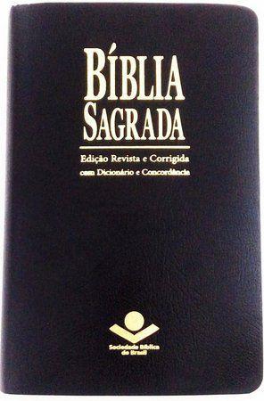 BÍBLIA COM ESPAÇO PARA ANOTAÇÕES - PRETA