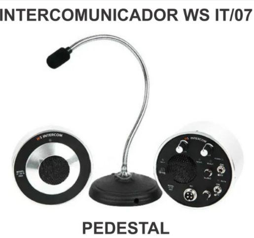 Intercomunicador Para Vidro WS IT/07