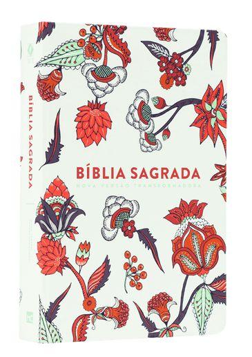 BIBLIA NVT LG ST - INDIAN FLOWERS BRANCA