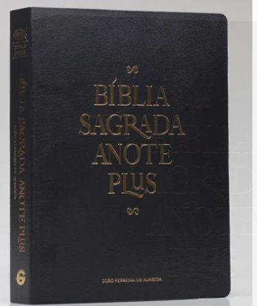 242 BIBLIA RC ANOTE PLUS SEMI LUXO PRETA