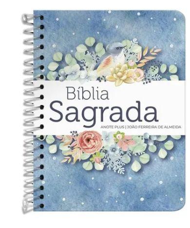 BIBLIA. RC ANOTE PLUS ESPIRAL PONTOS DE LUZ