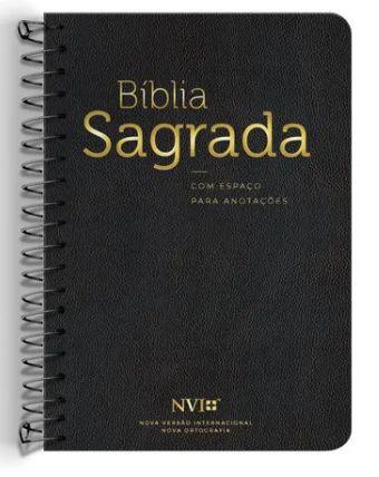 BIBLIA. NVI ANOTE ESPIRAL PRETA