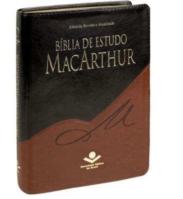 BIBLIA MACARTHUR CP SINT PRETA/MARROM