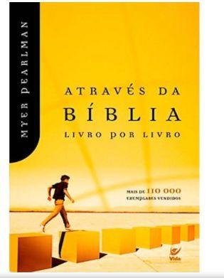 Através da Bíblia Livro por Livro   Myer Pearlman