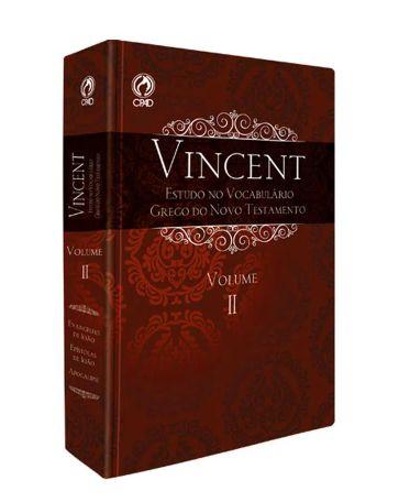 Vincent - Estudo do Vocabulário Grego do Novo Testamento - II