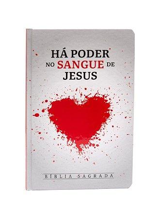 Bíblia Sagrada Há Poder no Sangue de Jesus - RC - Capa Dura