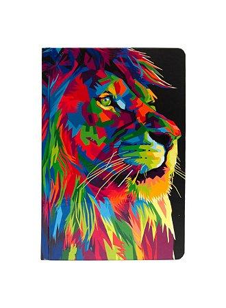 Bíblia Sagrada Leão Colorido - NTLH - Capa Dura