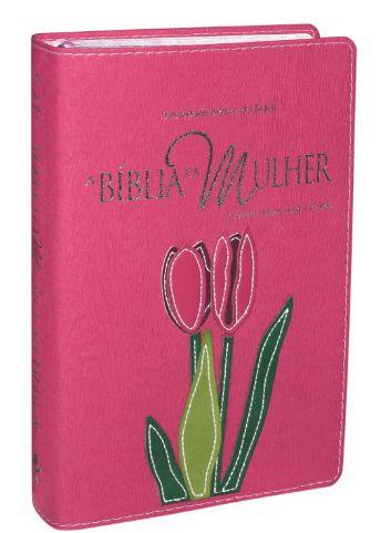 A Bíblia da Mulher Goiaba Flor - MÉDIA