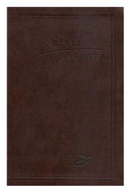 Bíblia Almeida Século 21 luxo - café c/ referências cruzadas