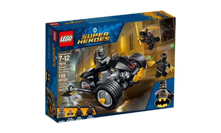 BATMAN: ATAQUE DOS GARRAS! 76110 - LEGO