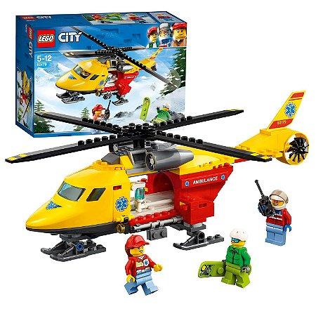 HELICOPTERO AMBULANCIA 60179 - LEGO