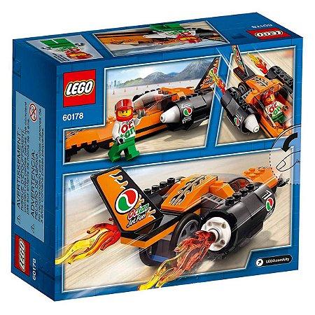 BATEDOR DE RECORDES DE VELOCIDADE 60178 - LEGO