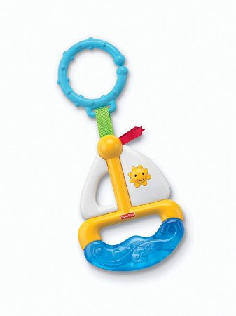 Fisher Price Mordedor Veleiro - Mattel