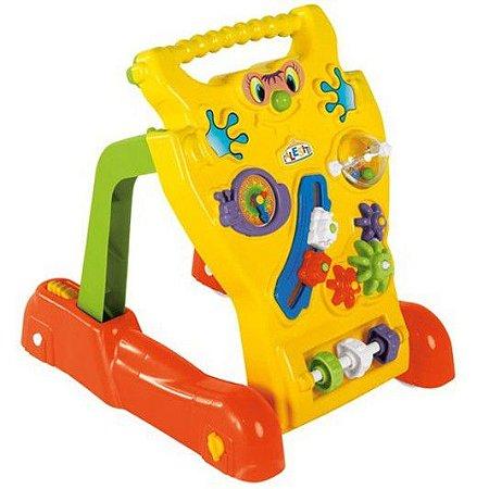 Andador Feliz Infantil Brinquedo Bebê Educativo - Calesita