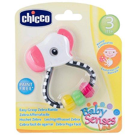 Chocalho Zebra Pega Fácil Baby Senses 3m+ Chicco