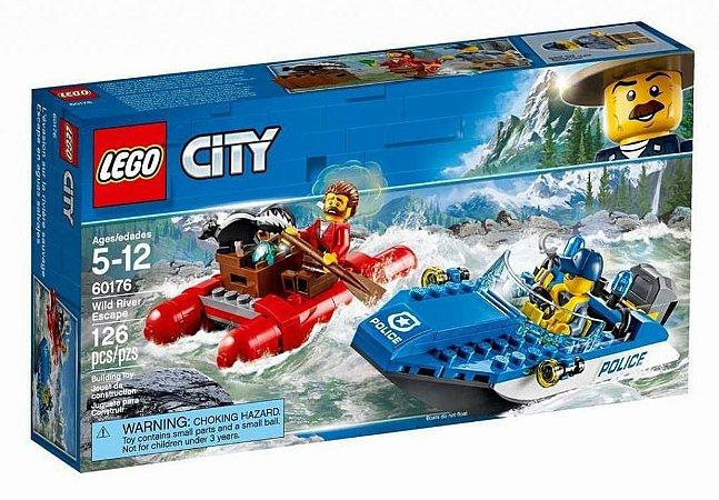 FUGA NO RIO FURIOSO - LEGO 60176
