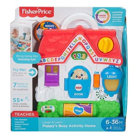 Casinha De Atividades Do Cachorrinho Aprender E Brincar Fisher-Price