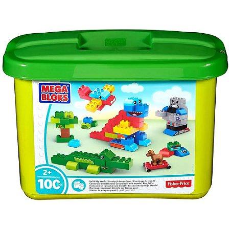 Mega Bloks  Meu Mundo 100 peças -  Fisher Price