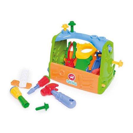 Caixa De Ferramentas Infantil 18 Peças 453 - Calesita