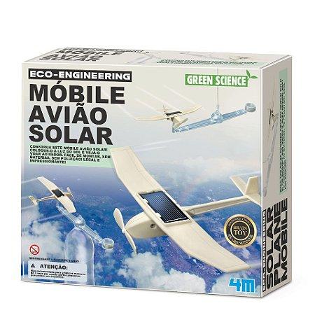Móbile Avião Solar Green Science - 4m