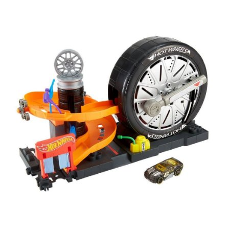 Hot Wheels Conjunto Super Spin Cidade FNB15  - Mattel