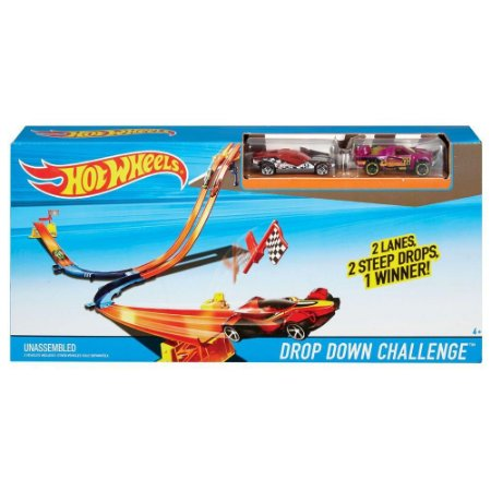 Pista de Rally Turbo Corrida Hot Wheels DNN81 Mattel