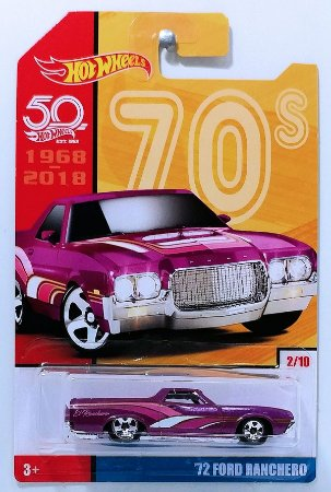 ANIV. 50 ANOS RETRO 1 modelo - HOT WHEELS