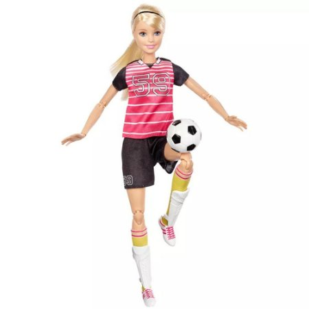 Barbie Prof Sort Esportista Articulada - Mattel