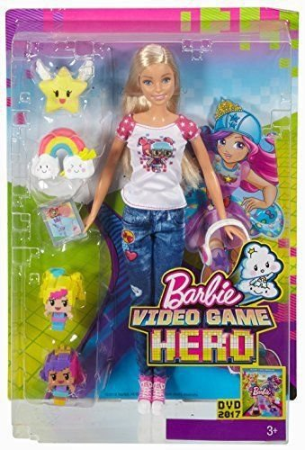 Boneca Barbie Mundo Real Video Game Hero - Mattel
