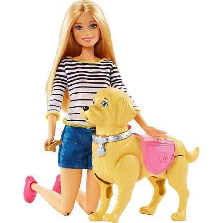 Barbie Familia Passeio Com O Cachorrinho - mattel