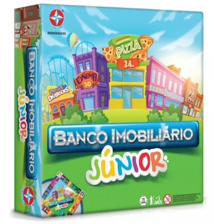 BANCO IMOBILIARIO JR. - ESTRELA