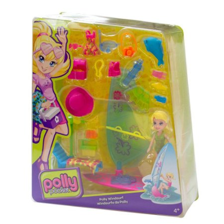 POLLY BONECA E ACESS PARQUE GOLF FRY87 MATTEL