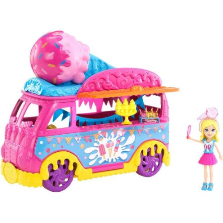 Polly Pocket Carnaval de Sorvete - Mattel
