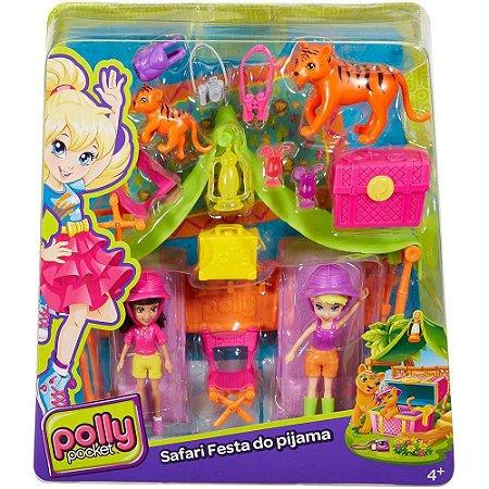 Polly Pocket Conjunto Aventura na Selva DJB25 15 Peças  - Mattel