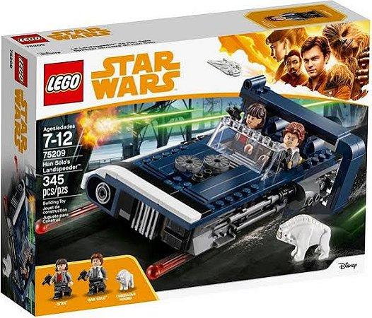 O LANDSPEEDER DO HAN SOLO LEGO 75209