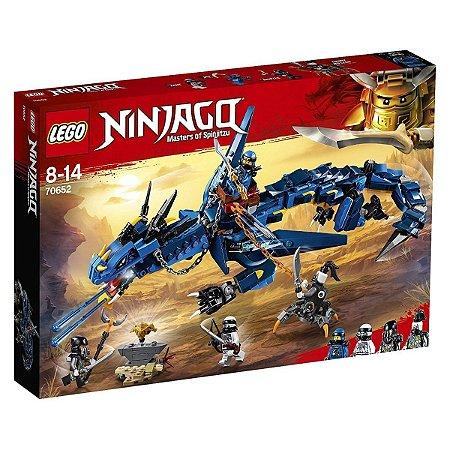 DRAGAO DE TEMPESTADE LEGO 70652
