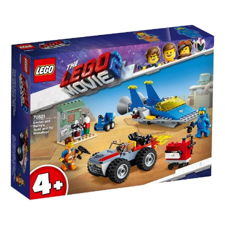 Oficina «Constroi e Conserta» de Emmet e Benny! - LEGO 70821