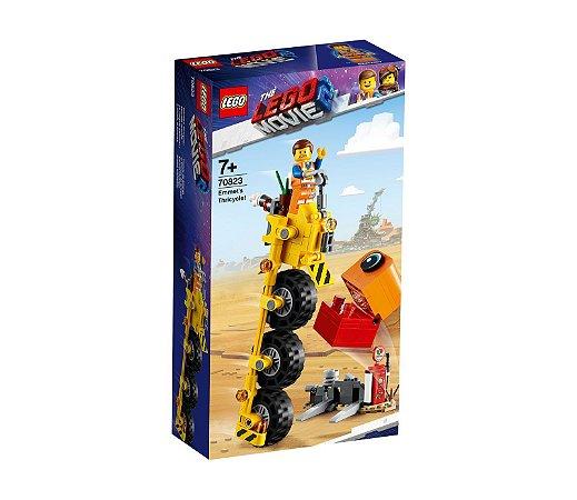 O Triciclo do Emmet! - LEGO 70823