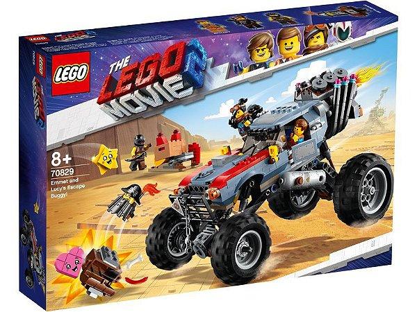 O Buggy de Fuga de Emmet e Megaestilo! - LEGO 70829