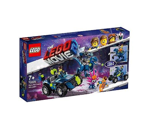 O Veiculo Off-Road Rex-treme do Rex! - LEGO 70826
