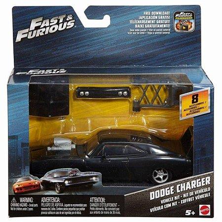 Dodge Charger Kit Veículo Customização Fast & Furious - Mattel FCG47