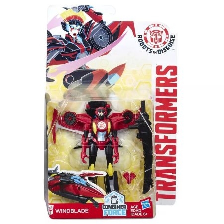 Transformers - Robots In Disguise Wariors - Windblade 15 cm - Hasbro