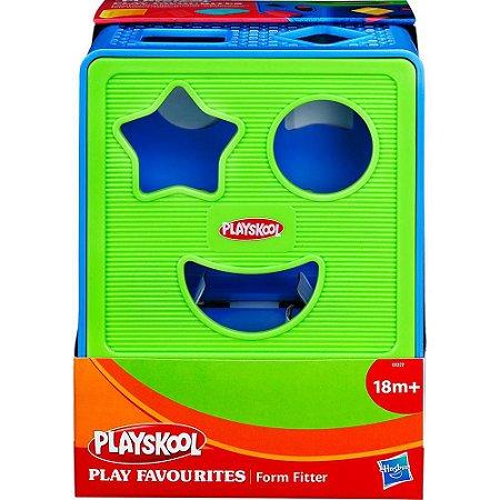 Playskool Cubo c/ Formas Geométricas de Encaixar - Hasbro