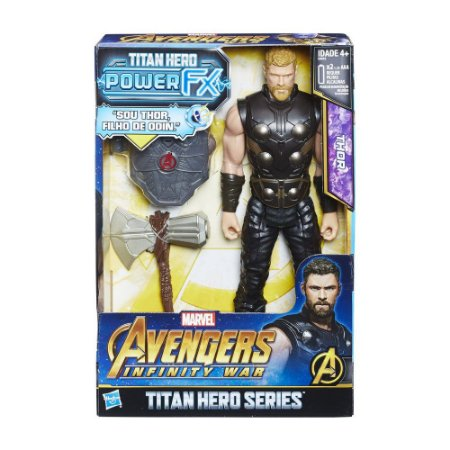 Boneco Avengers Power Pack Thor - E0616 - Hasbro