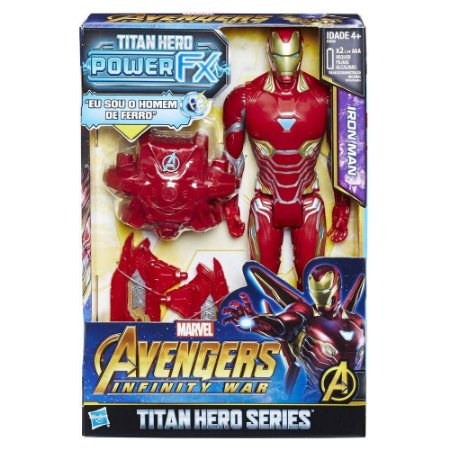 Boneco Avengers Power Pack Homem De Ferro - E0606 - Hasbro