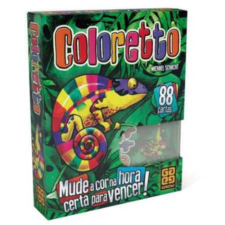 Jogo Coloretto - Grow