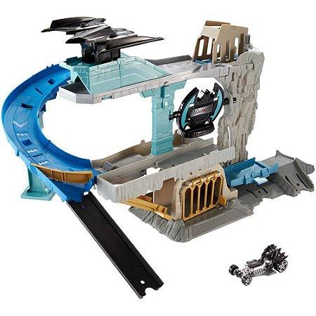 Conjunto Batcaverna HotWheels - Mattel