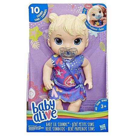 BABY ALIVE PRIMEIROS SONS LOIRA/E3690 - HASBRO
