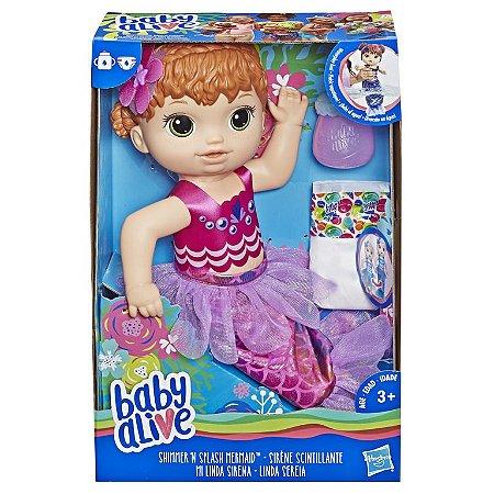 BABY ALIVE LINDA SEREIA RUIVA/E4410 - HASBRO