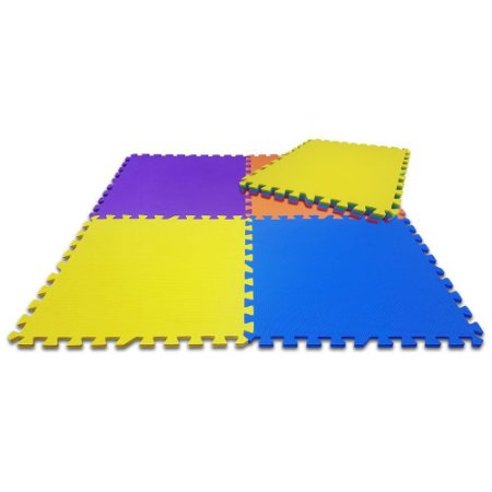 BORRACHA EVA BIG PLAY MAT COLOR 9PC 52X52 8M